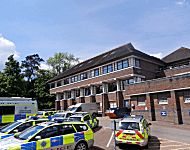 Police Station building in Haywards Heath